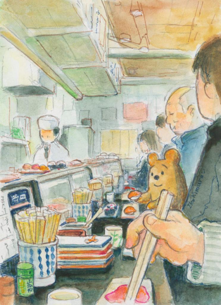 くまごろう カウンター 寿司 阪神百貨店