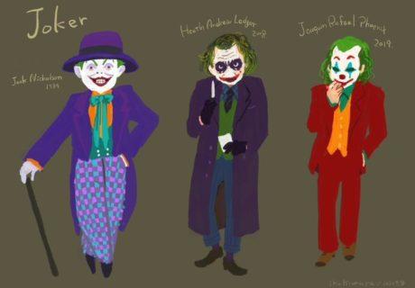 歴代ジョーカー衣装