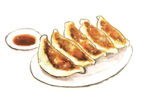 餃子 午前4時の白パン
