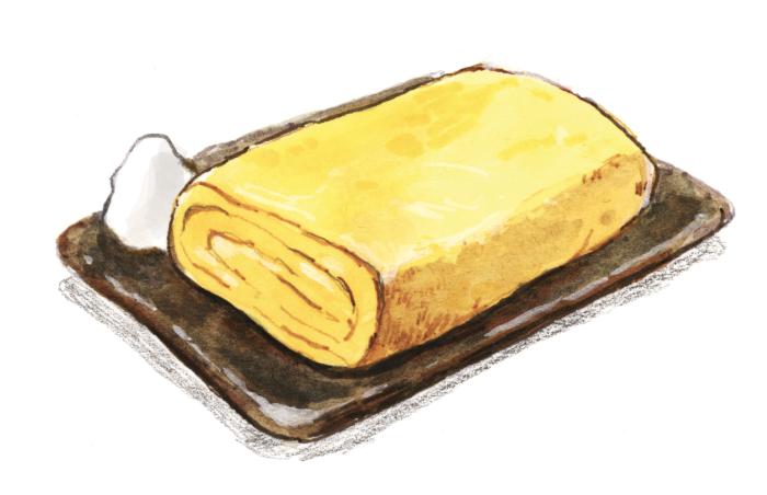 卵焼き 午前4時の白パン